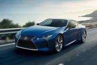 Новейшее гибридное купе Lexus